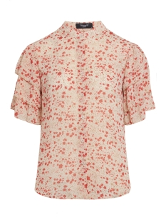SisterS point Blouse GREED TOP CREAM/RED FLOWER