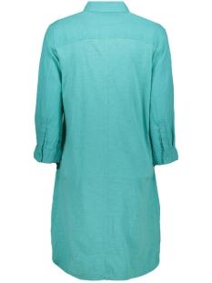 linnen jurk met 3 4 mouw 22001816 sandwich jurk 51004