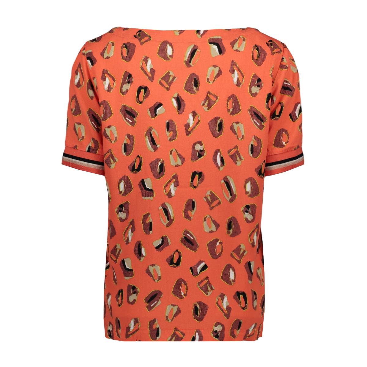 blouse met grafishe print 22001848 sandwich blouse 20139