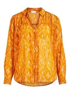 Vila Blouse VISAVINA LENOA L/S SHIRT C12 14060315 Pumpkin Spice/LENOA
