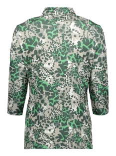 jasmin printed blouse 202 zoso blouse green tones