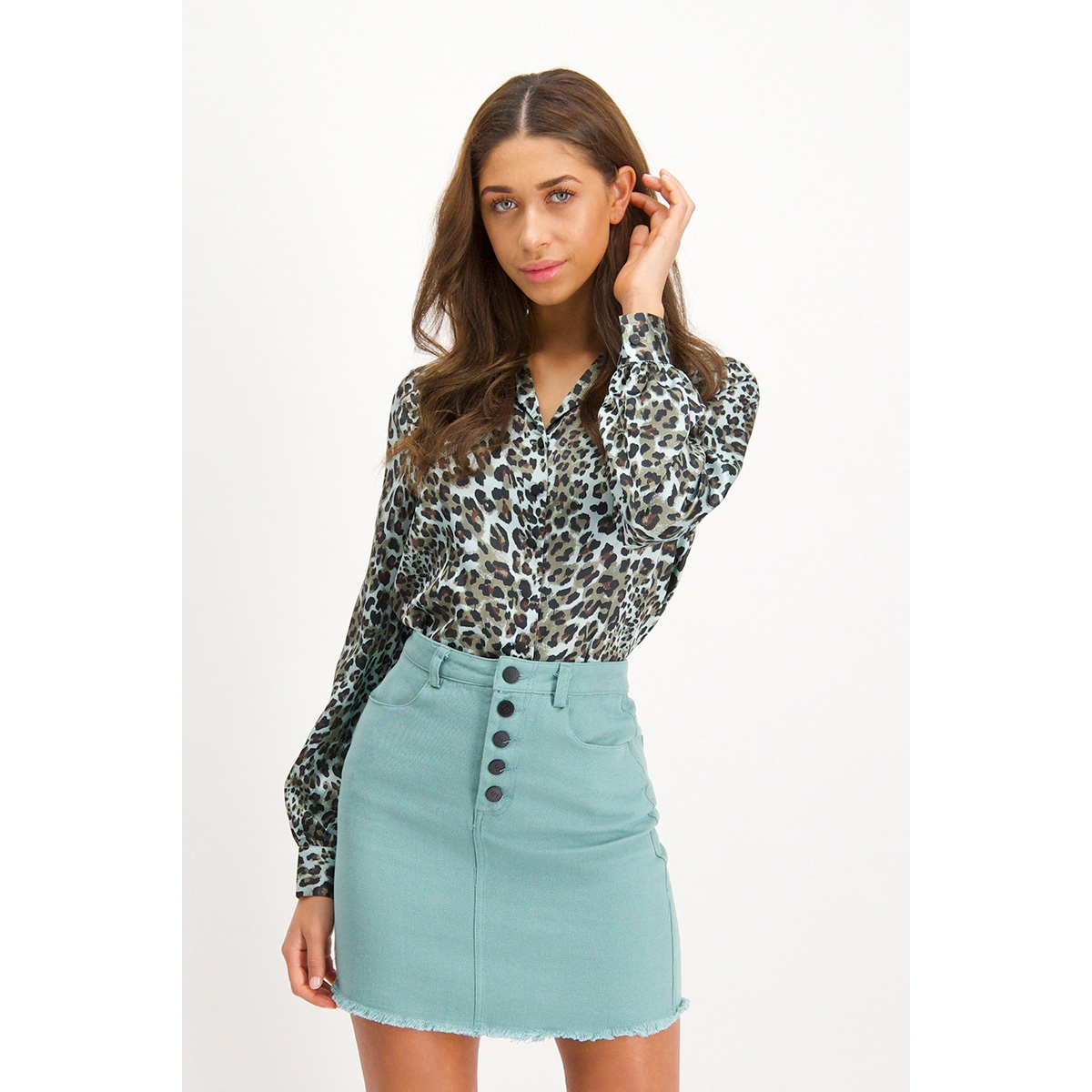 mg62 blouse shirley lofty manner blouse mint