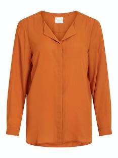 Vila Blouse VILUCY L/S SHIRT - NOOS 14044253 Pumpkin Spice