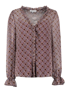 Harper & Yve Blouse ANNA LS BLOUSE FW20S601 MULTICOLOR/GRAPHIC