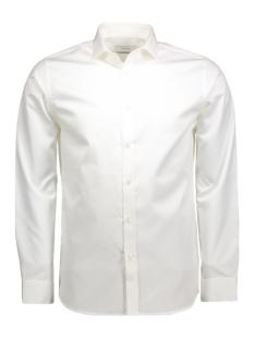 andrew shirt l/s tight fit sup 12020857 jack & jones overhemd optical white