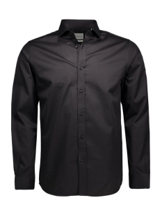 Andrew Shirt L/S Tight Fit Sup 12020857 black