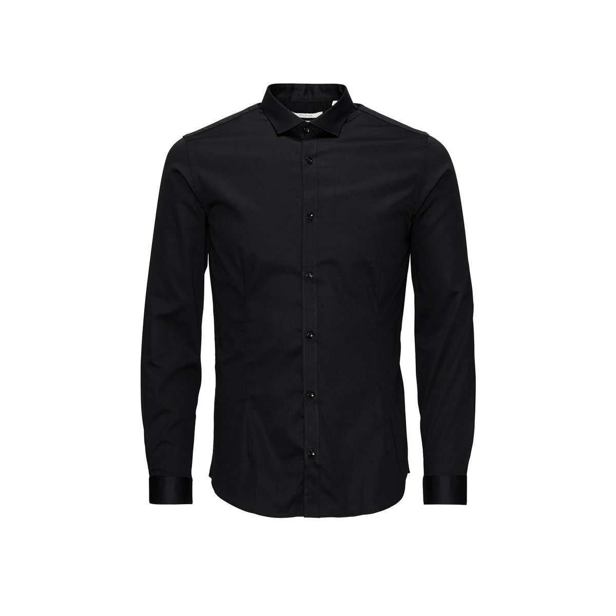 jjprparma shirt 12097662 jack & jones overhemd black