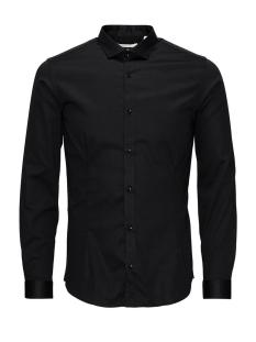 jjprparma shirt l/s noos 12097662 jack & jones overhemd black