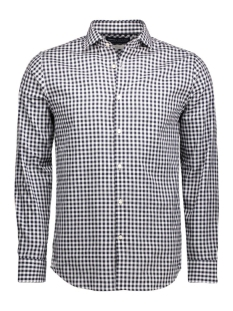 jjproscar shirt l/s noos 12101718 jack & jones overhemd navy blazer