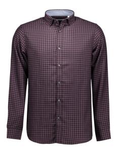 jjprspace shirt plain 12107030 jack & jones overhemd plum perfect