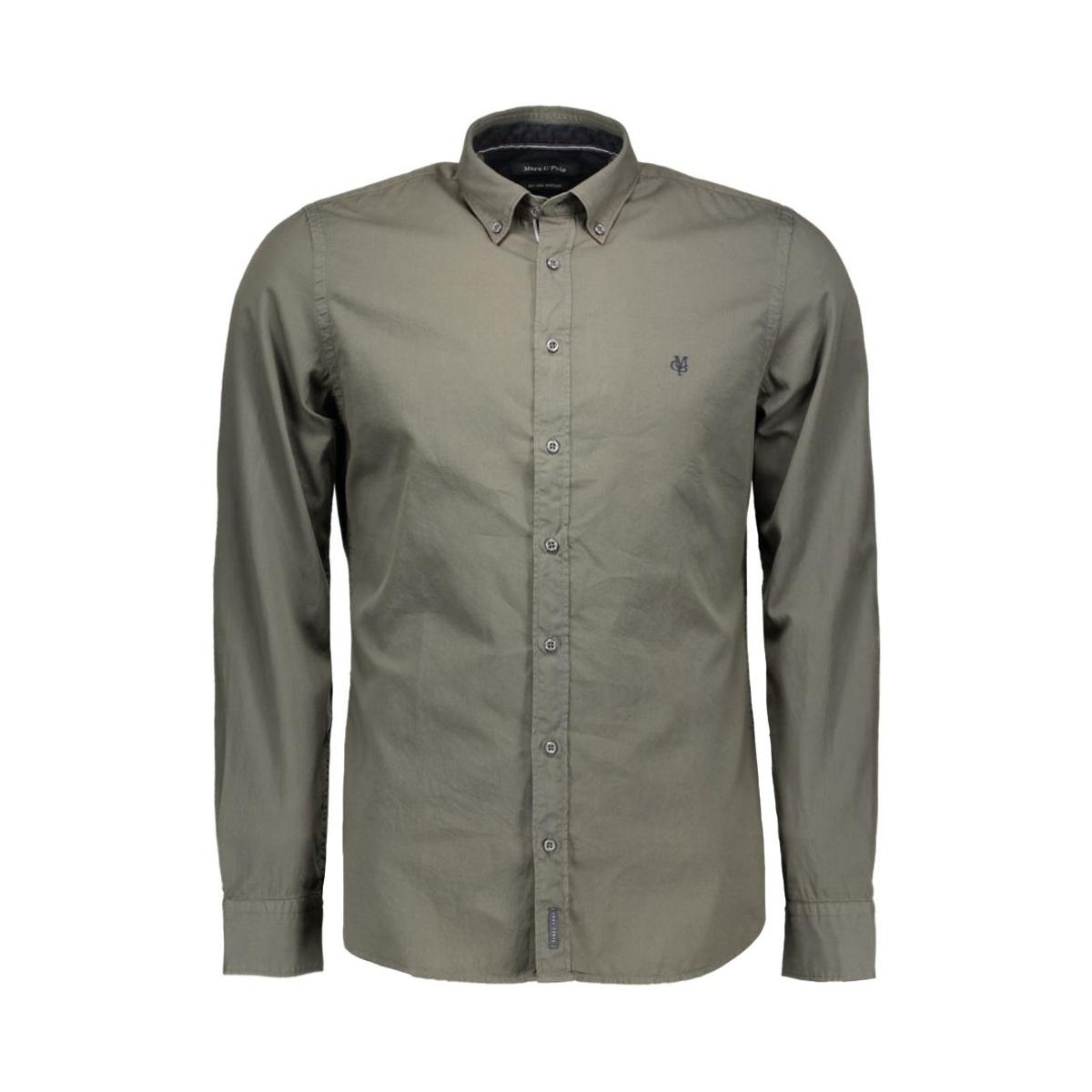 s27 1668 42076 marc o`polo overhemd 492 olive