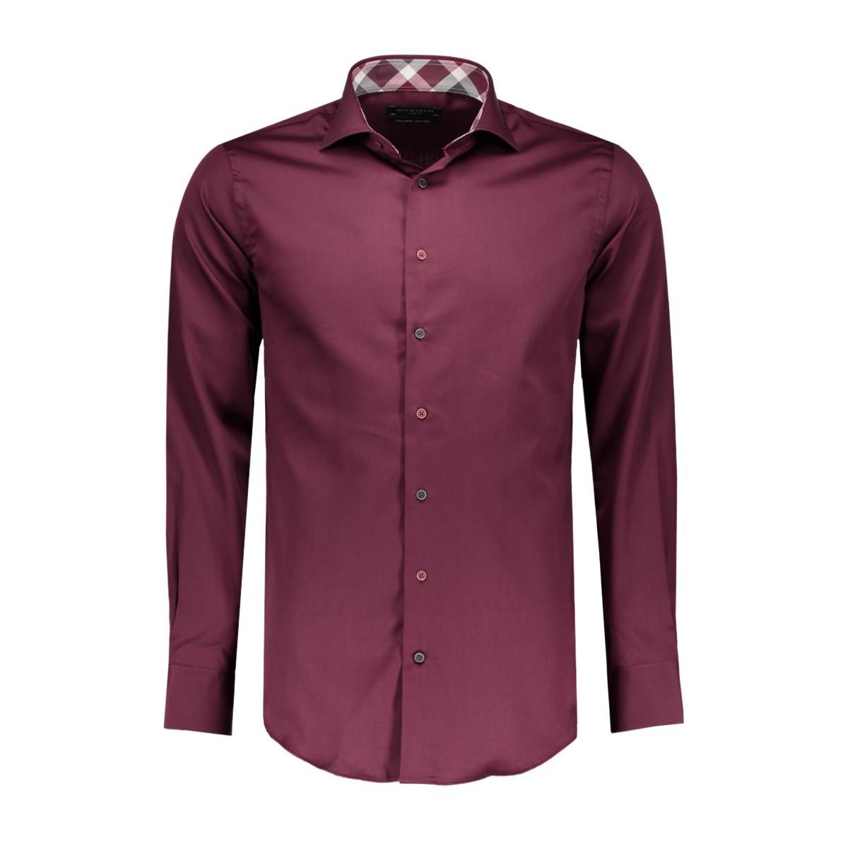 pmnh300025 michaelis overhemd bordeaux