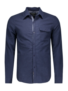 hw16.17.542 jake shirt circle of trust overhemd frosted navy