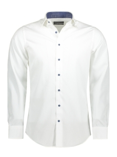 Michaelis Overhemd PMOH100053 White
