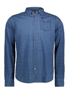 Twinlife Overhemd MSH751612 REAL INDIGO