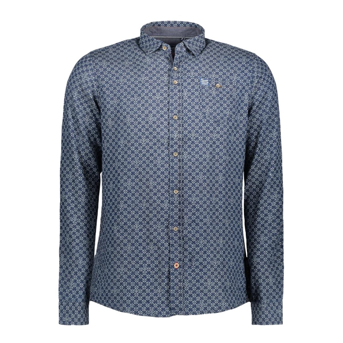 msh751615 twinlife overhemd real indigo