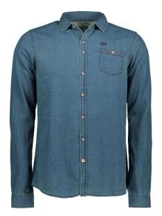 Twinlife Overhemd MSH751623 REAL INDIGO