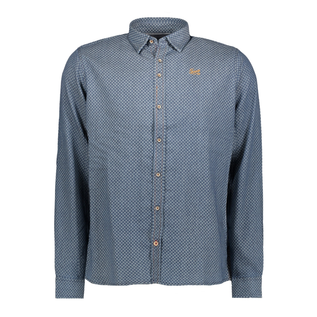 msh751625 twinlife overhemd real indigo