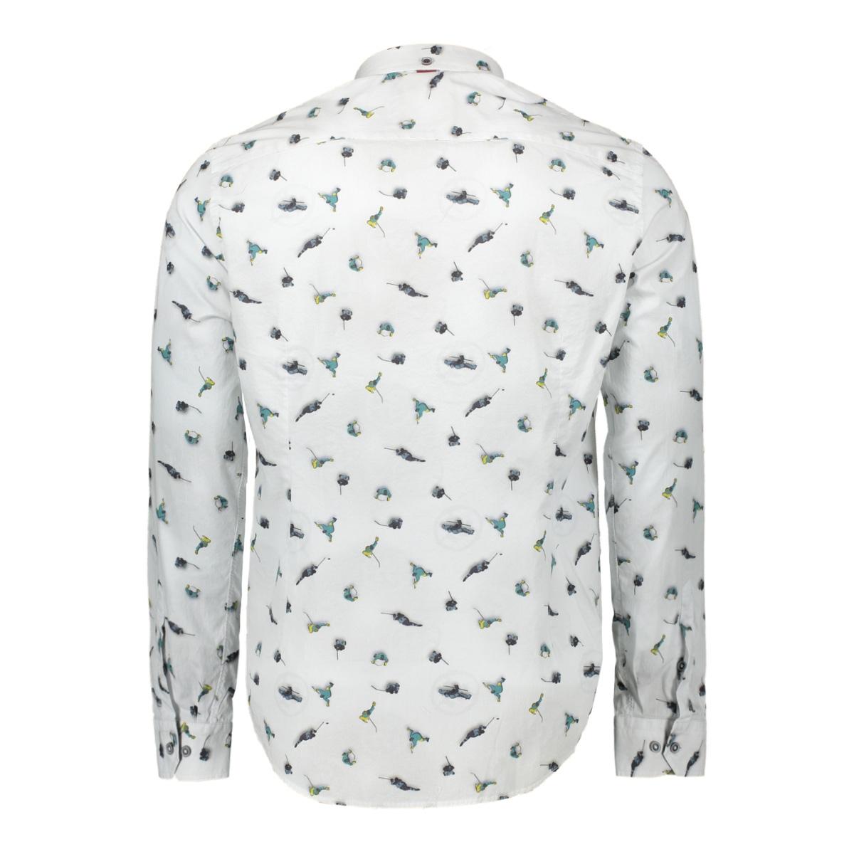 srt007 companeros overhemd 10white