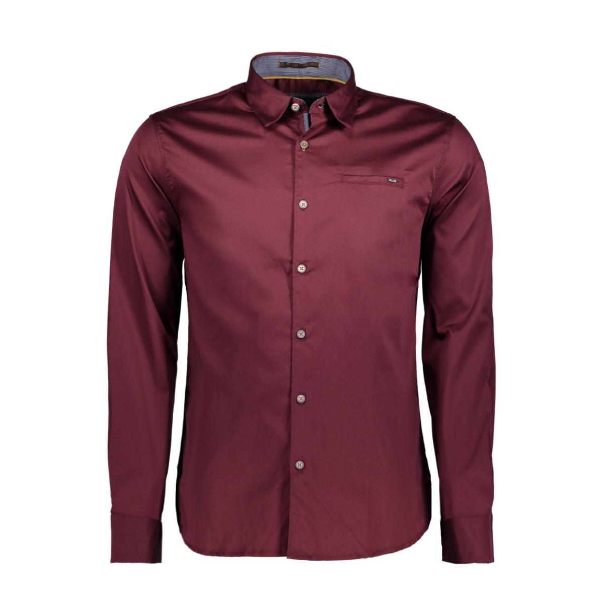 82430803 no-excess overhemd 083 aubergine