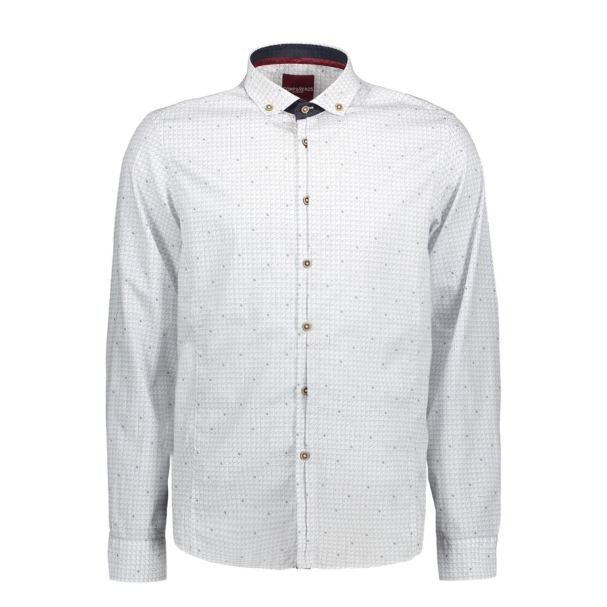 aw17srt006 companeros overhemd white 10