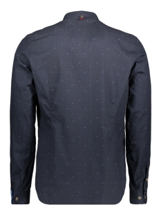 aw17srt006 companeros overhemd navy 02
