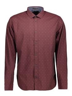 NO-EXCESS Overhemd 82430801 183 Dk Aubergine