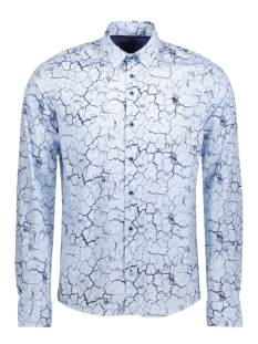 Twinlife Overhemd MSH811603 6007 Blue Glow