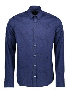 Twinlife Overhemd MSH811603 6512 Indigo Blue