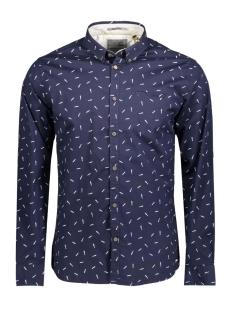 Gabbiano Overhemd 85480202 037 Navy