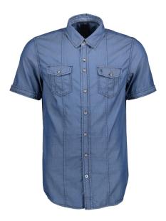 Twinlife Overhemd MSH811619 6550 Real Indigo