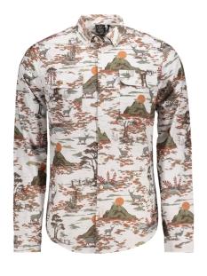 Kultivate Overhemd 1801040000 203 Ecru