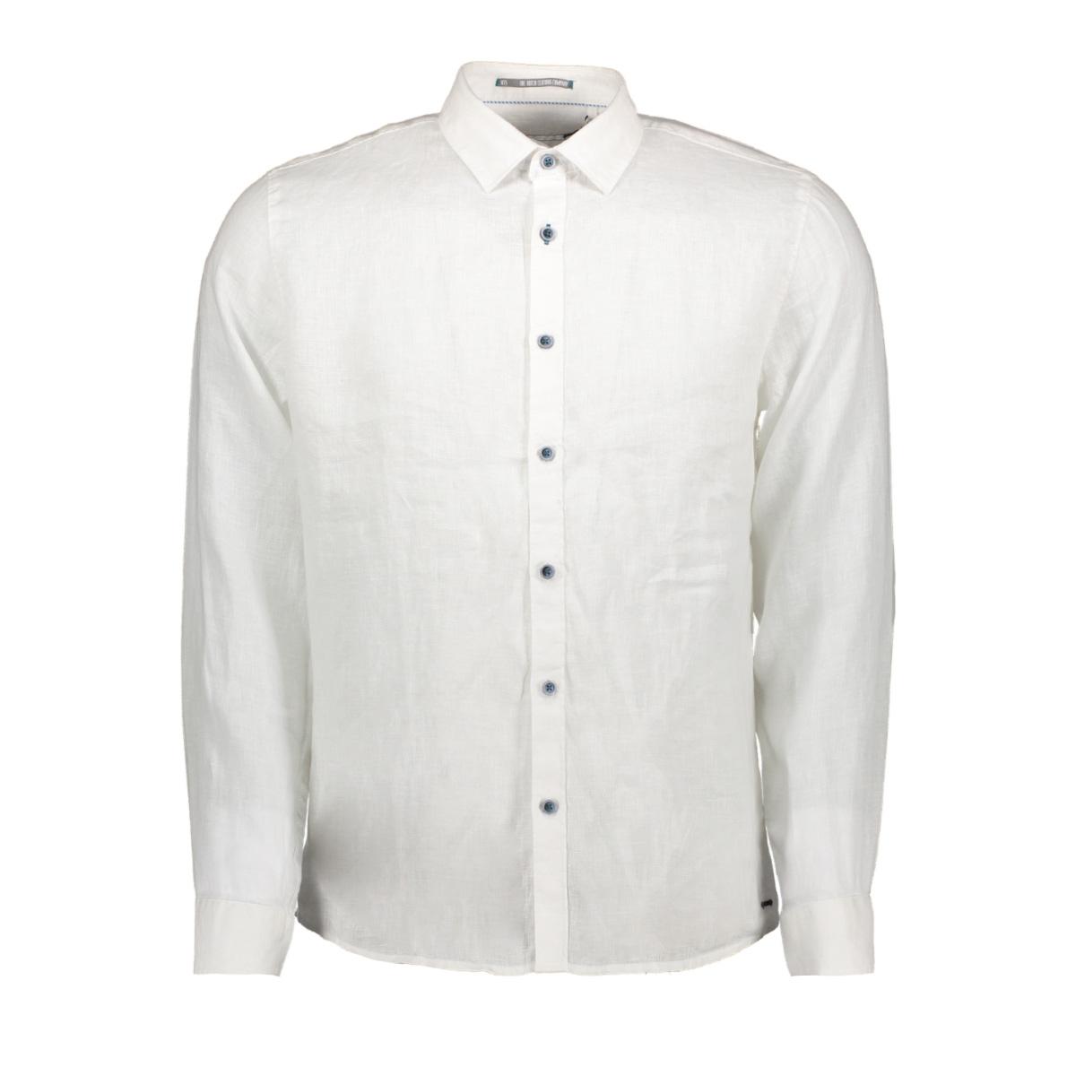 linnen shirt 90410216 no-excess overhemd 010 white