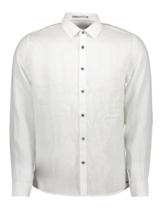 NO-EXCESS Overhemd LINNEN SHIRT 90410216 010 White