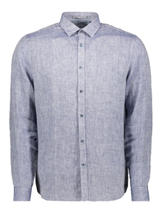 NO-EXCESS Overhemd LINNEN SHIRT 90410216 136 Indigo Blue