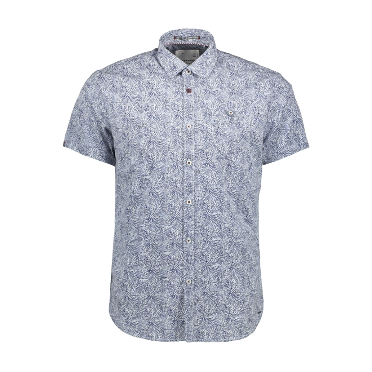 allover printed shirt 90460301 no-excess overhemd 010 white