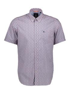 Lerros Overhemd KORTE MOUW OVERHEMD MET RUIT 2922161 347