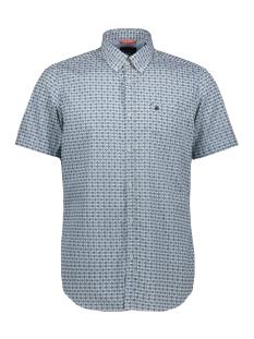 Lerros Overhemd KORTE MOUW OVERHEMD MET RUIT 2922161 629