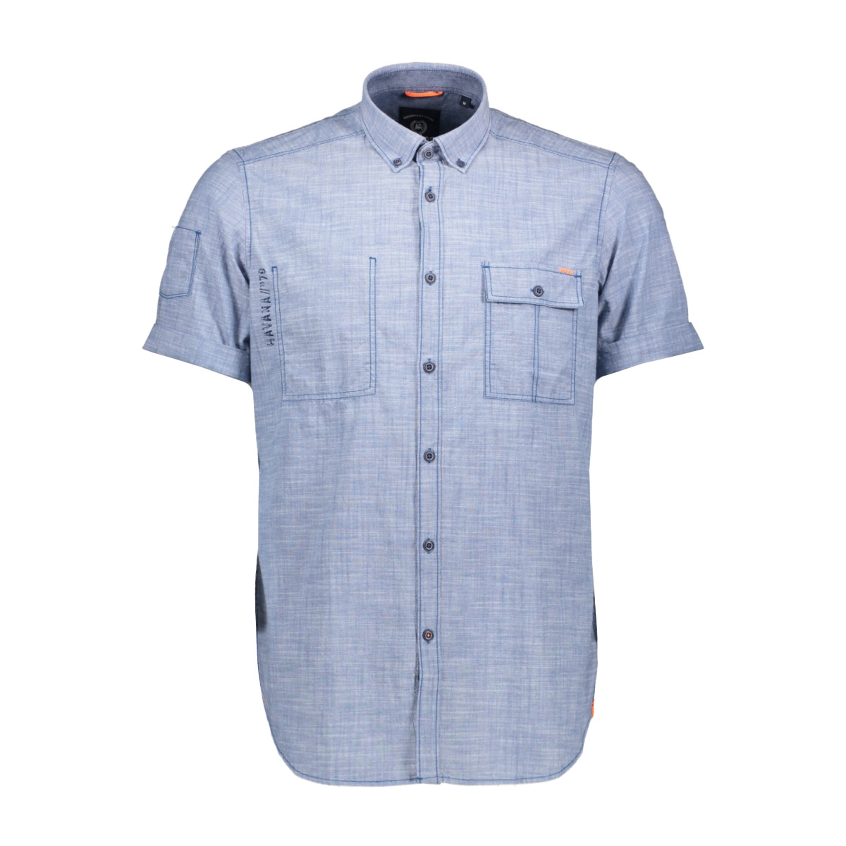 korte mouw overhemd 2932191 lerros overhemd 436