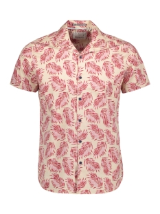 shirt  s sl  ao printed  stretch 90440480 no-excess overhemd 065