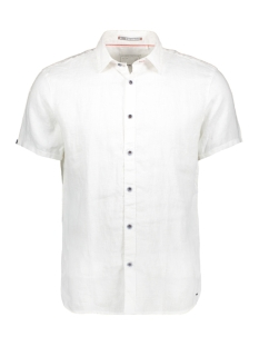 NO-EXCESS Overhemd LINNEN SHIRT 90420408 010 WHITE