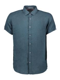 NO-EXCESS Overhemd LINNEN SHIRT 90420408 157 DK SEAGREEN