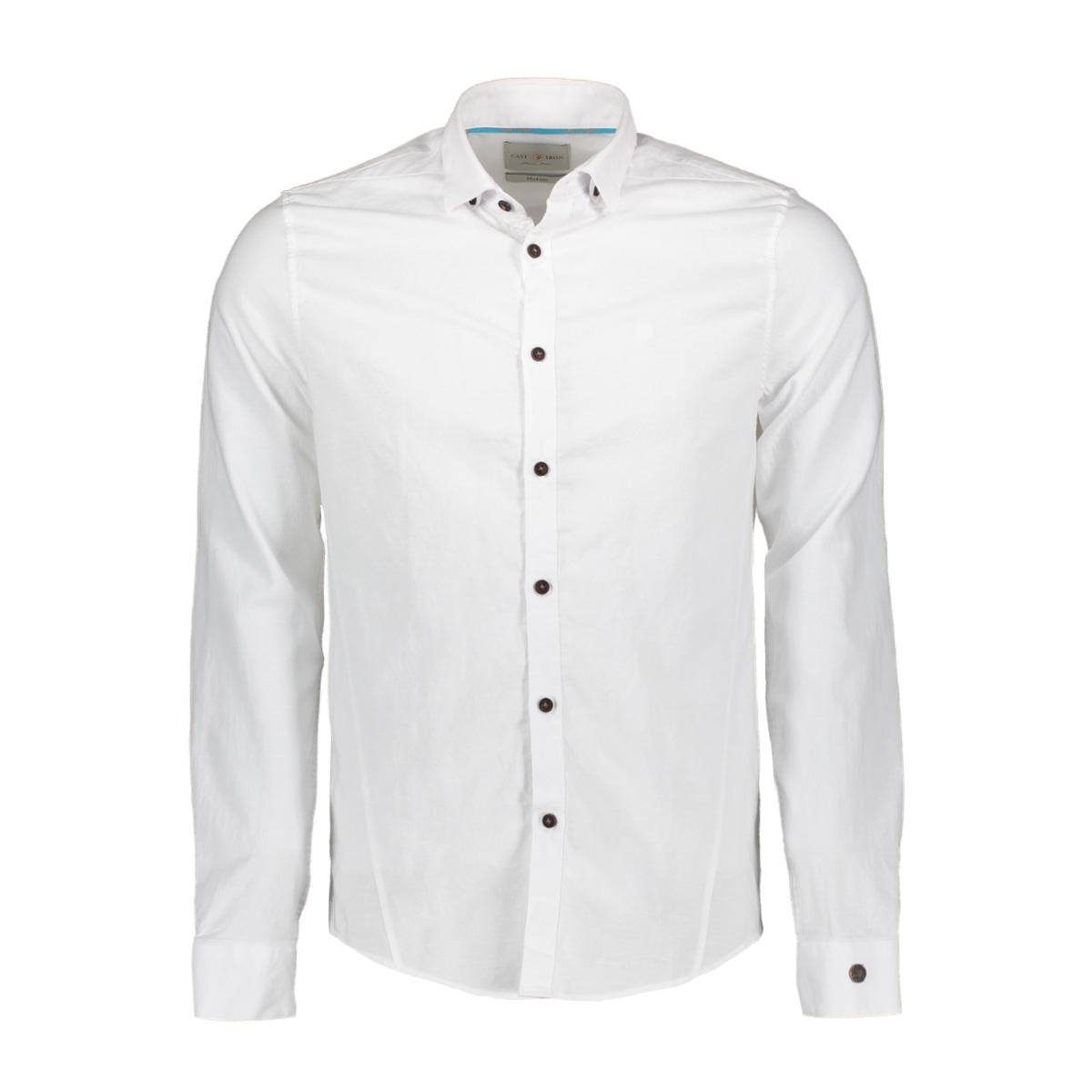 cotton linnen dobby shirt csi193642 cast iron overhemd 7003