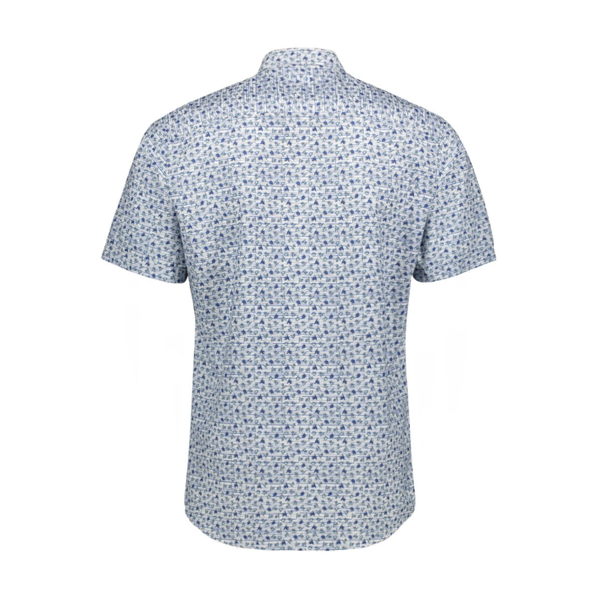 overhemd met allover print 2952030 lerros overhemd 443