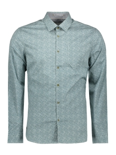 NO-EXCESS Overhemd ALL OVER PRINTED SHIRT 92410702 153 Pacific