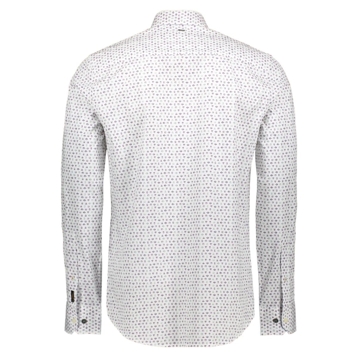 poplin print shirt psi195216 pme legend overhemd 7003