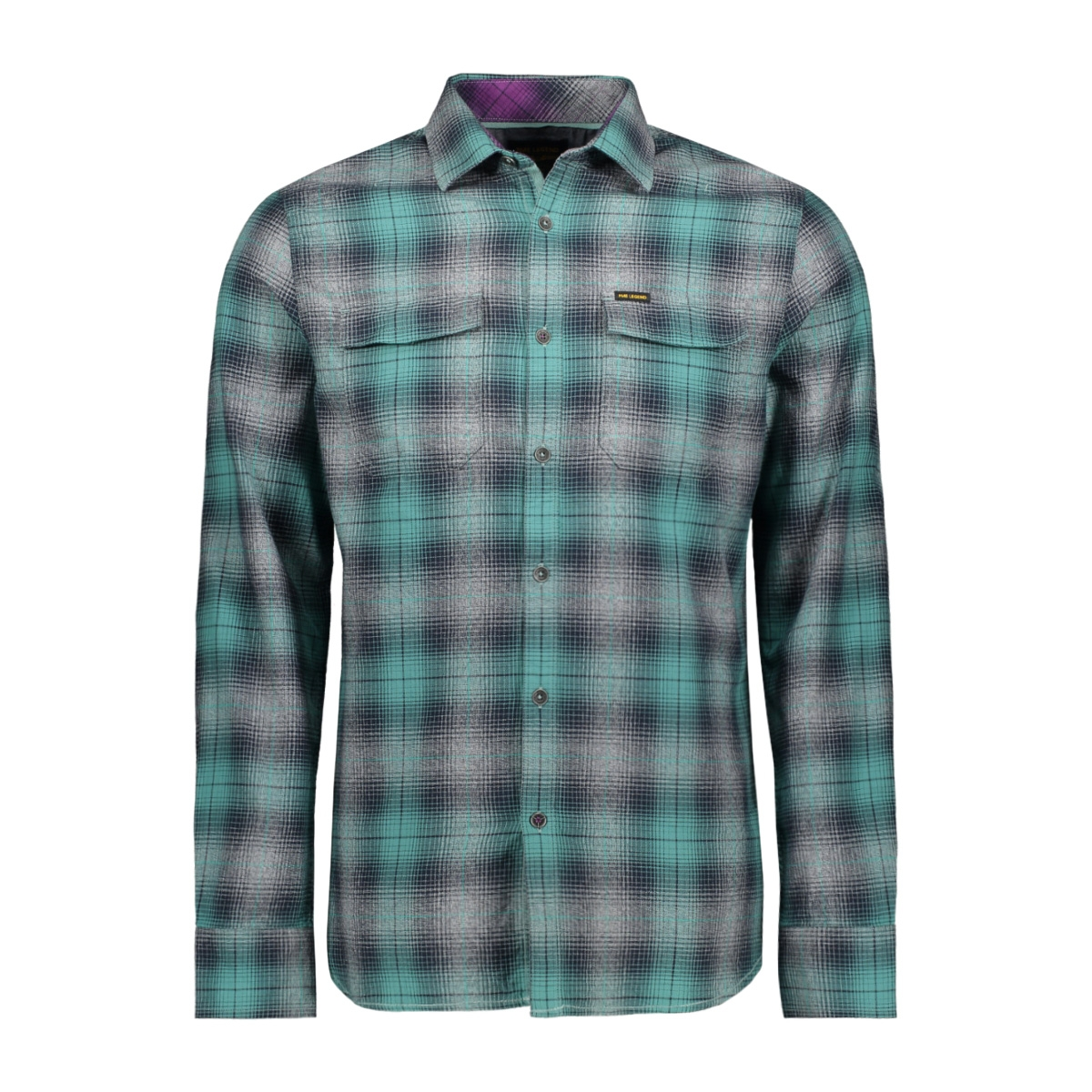 check shirt psi195221 pme legend overhemd 5224