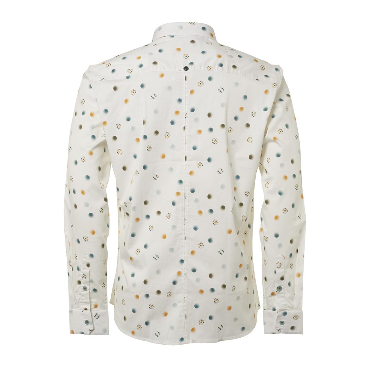 shirt printed 92430702 no-excess overhemd 010 white