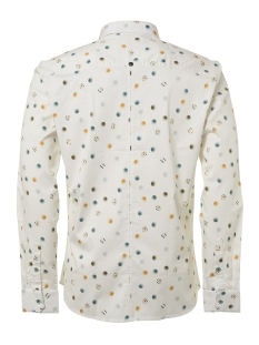 shirt printed 92430702 no-excess overhemd 010 white
