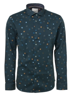 NO-EXCESS Overhemd SHIRT PRINTED 92430702 157 DK Seagreen